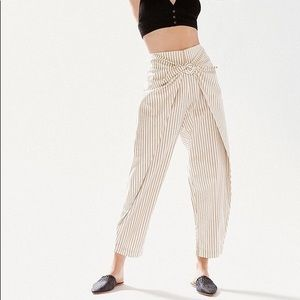 Urban Outfitters Silence + Noise Striped Pants